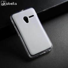 AKABEILA Soft TPU Phone Cases For Alcatel OneTouch Pixi 3 4.0 inch 4013 4050 4013A one touch pixi3 OT 4013X 4G Version 4013D 4050X 4050D 4050A Covers Back white Silicone Smartphone Case Housing Shockproof Bags Case 360Degree Full Protect Back Cover