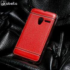 AKABEILA Soft TPU Phone Cases For Alcatel OneTouch Pixi 3 4.0 inch 4013 4050 4013A one touch pixi3 OT 4013X 4G Version 4013D 4050X 4050D 4050A Litchi Phone Bags Shell Covers Back Silicone Hood Housing Skin Smartphone Case Housing Shockproof Bags Case
