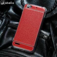 Akabeila Ponsel TPU Lembut Case S untuk ZTE Blade L4 A460 5.0 Inch Lengkeng Tas Ponsel Shell Penutup Silicone Back Smartphone Case Anti- debu Sarung Selular