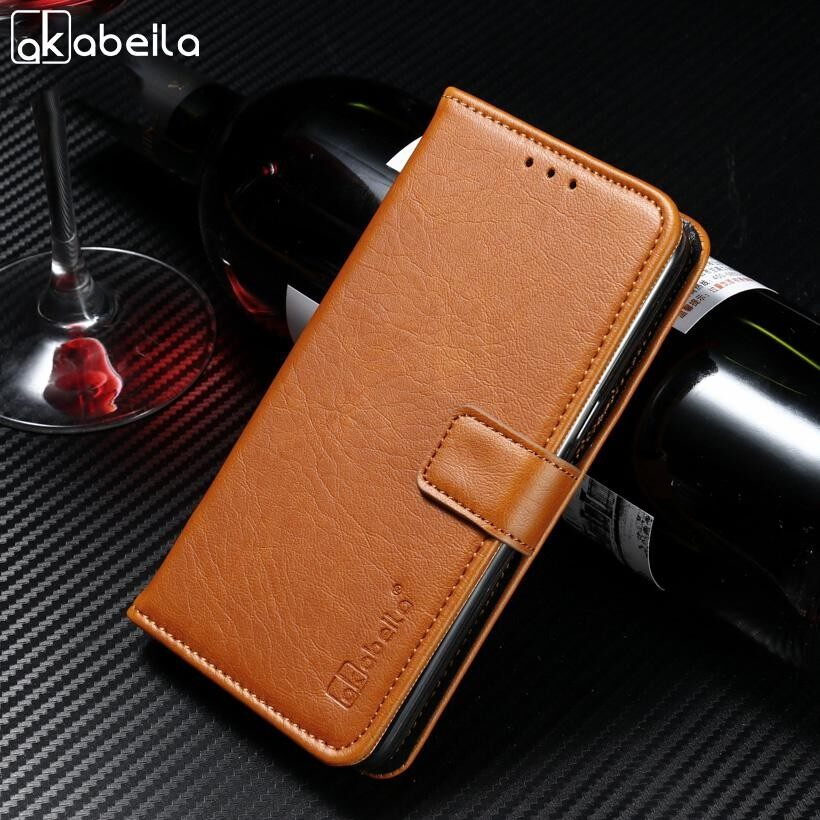9f313d5e4a AKABEILA Wallet PU Leather Phone Cases For Huawei Mate 8 Mate8 6.0 inch Covers  Crazy Horse Flip Bags Back Shell Skin Hosuing Case With Card Holder - intl  ...