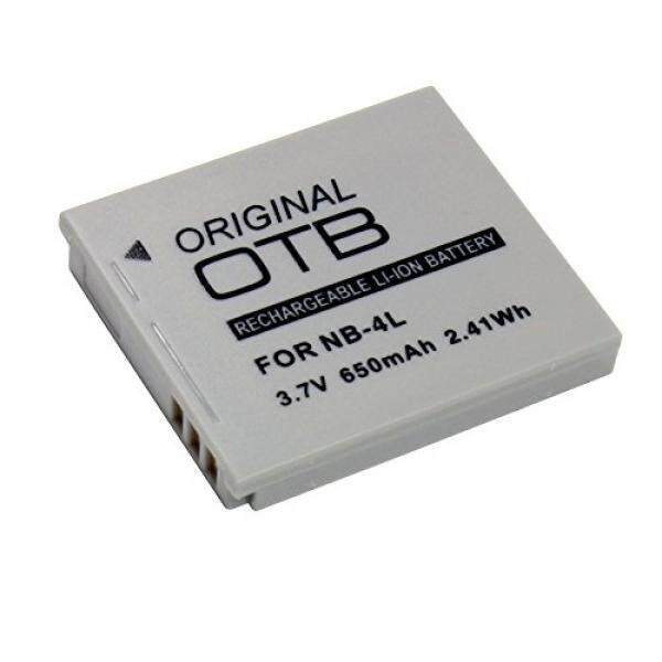 Akku F? R Canon LEGRIA Mini 650 MAh, Ersetzt: NB-4L Ersetzt: Canon NB-4L-Intl