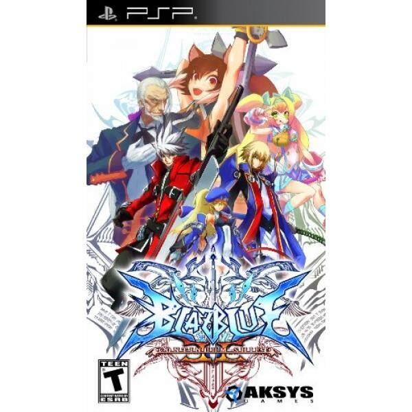 Aksys-games Produk Blazblue Continuum Shift II-Sony PSP-Intl