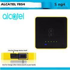 Alcatel Y854 4G LTE 150Mbps 20hr Direct Sim Mifi Portable Hotspot + Power  Bank function