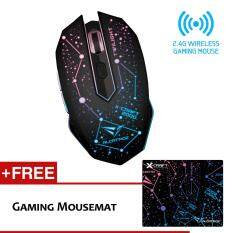 Alcatroz X-Craft Air Twilight 2000 Wireless Gaming Mouse Free Mousemat Malaysia