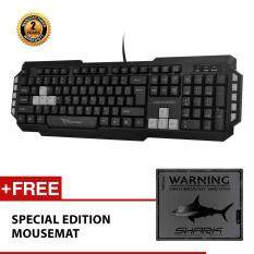 Alcatroz Xplorer M550 Multimedia Keyboard Free Mousemat (Grey) Malaysia