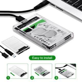 Hộp Đựng Ổ Cứng SSD USB 3.0 Sang SATA Tốc Độ Cao Trong Suốt Kèm Theo Ổ Cứng thumbnail