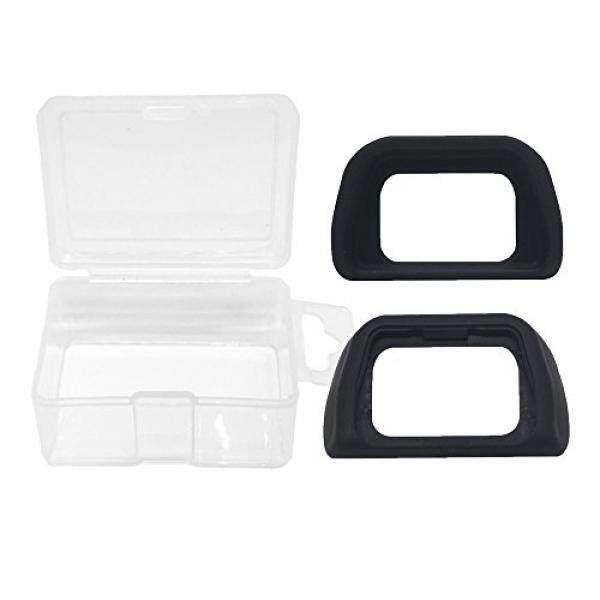 Alliebe EP-10 Augenmuschel Okular Sucher F? R Sony Alpha A6000 A7000 Nex-5 Nex-6 Nex-7 DSLR Kamera Ersetzt Sony FDA-EP10 (2 Packung) MIT Alliebe Mini-Speicher-Intl