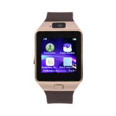 Kamera Mini Jam Tangan Pintar For Ponsel Android Handphone Sobat Fashion Elegan Allwin (emas)