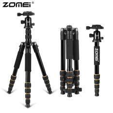 Allwin Zomei Q666 Kamera Profesional Tripod Lightweight Portabel Aluminium Monopod-Internasional