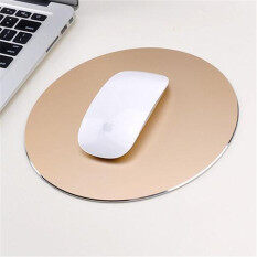 Aluminium Alloy Mouse Pad Metal Luxury Simple Speed Gaming Mouse Mat Creative Metal Mousepad For PC Computer Laptop (Gold) Malaysia
