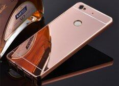 Aluminium Metal Mirror Bumper Case Cover for Sony Xperia XA Ultra (Rose Gold)MYR14. MYR 14