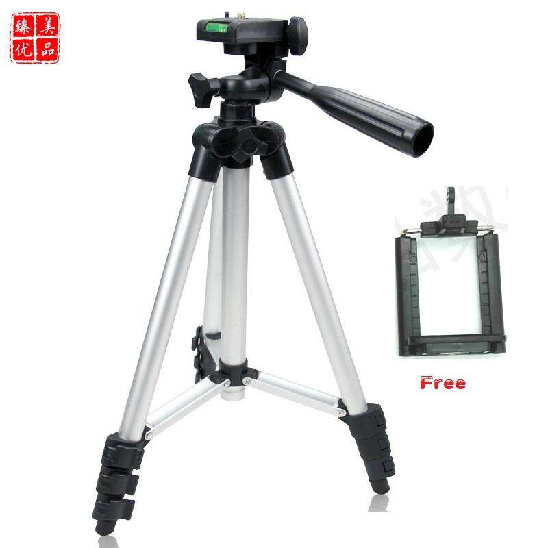 Aluminum alloy Camera Tripod Stand Holder with Rocker Arm Vogue Flexible Tripod for Camera Phone Gopro