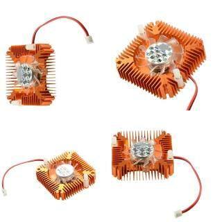Quạt Làm Mát Bằng Nhôm Jettingbuy Quạt Tản Nhiệt Làm Mát Phù Hợp Cho Máy Tính PC VGA Card Card CPU Quạt thumbnail