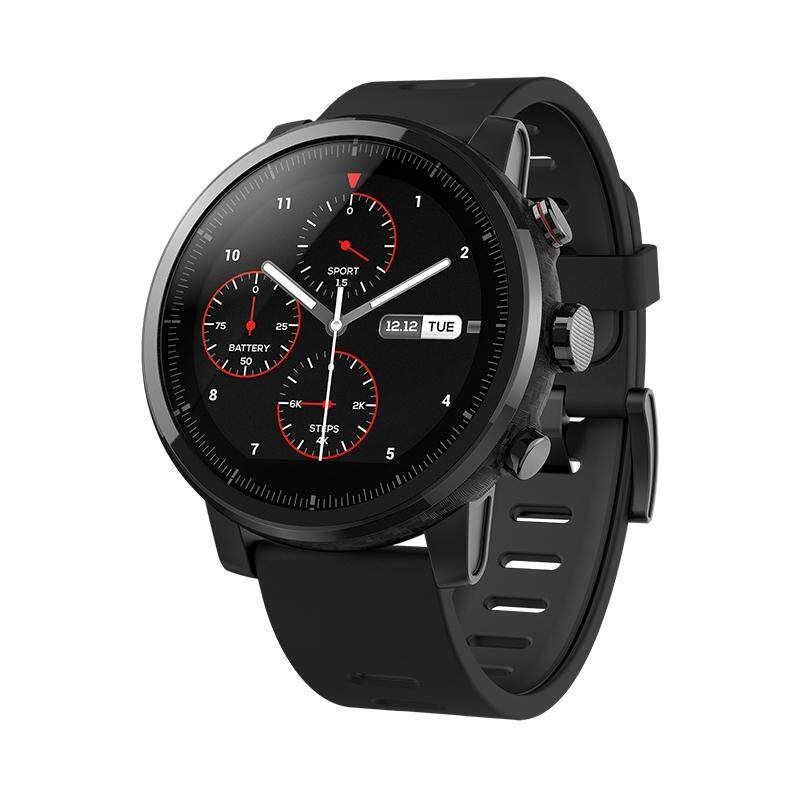 Sale Amazfit Watch 2 Original Amazfit Smartwatch 2 Running Watch Gps Xiaomi Chip Alipay Payment Bluetooth 4 2 Bidirectional Anti Lost For Ios Android Phones Intl Oem