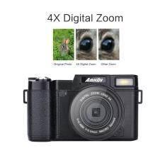 Amkov Amk-R2 24mp 1080 P 3.0 Lcd Diputar Layar Digital Slr Dv Perekam Kamera Hitam-Intl By Legendseller.