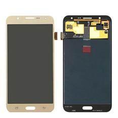 AMOLED Layar LCD Pengganti untuk Samsung Galaxy J7 2015 J700 SM-J700F J700H J700M J700H/DS Sentuh Layar Digitizer Perakitan