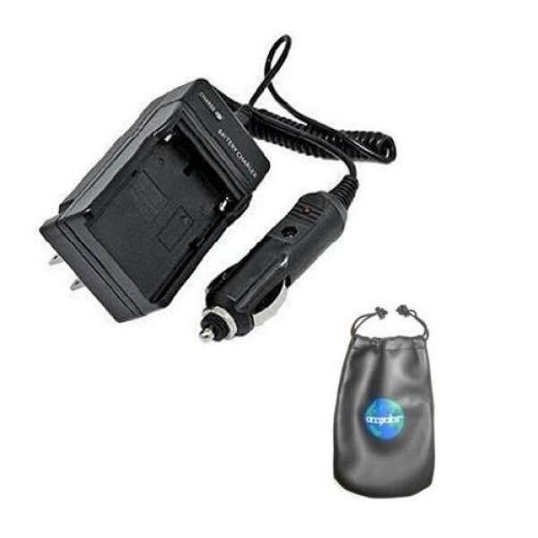 Amsahr BP308 Digital Pengganti Mini Pengisi Daya Di Perjalanan untuk Canon BP-308, BP-208, BP315, DC10, DC19 dengan Lensa Tas Kecil Aksesoris (Abu-abu)-Intl