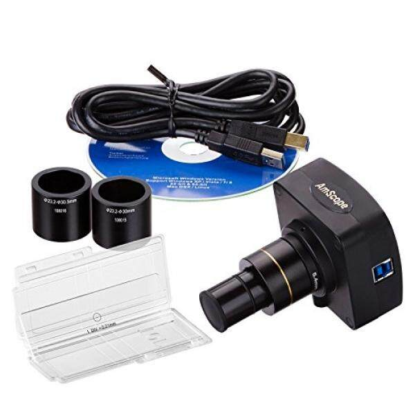 Amscope 5MP USB3.0 Real-Time Video Langsung Kamera Digital Mikroskopis + Alat Kalibrasi-Intl