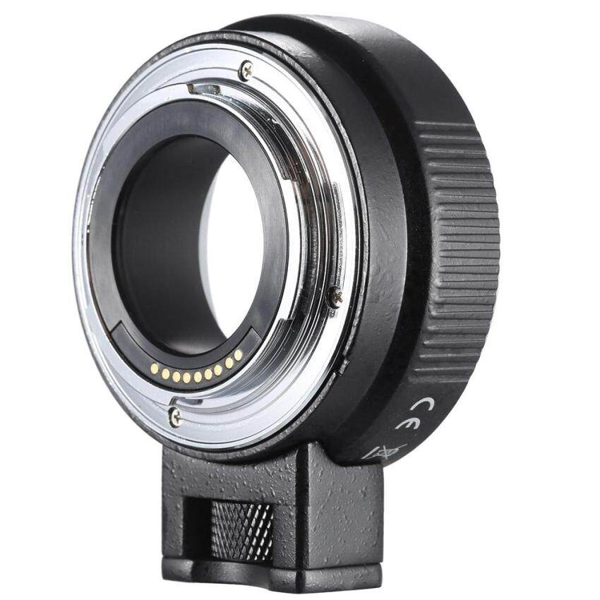 Andoer EF-EOSM Lensa Mount Penyangga Adaptor Auto-Exposure Auto-Focus dan Auto-Aperture untuk Canon EF/EF-S lensa Seri untuk EOS M EF-M-Intl