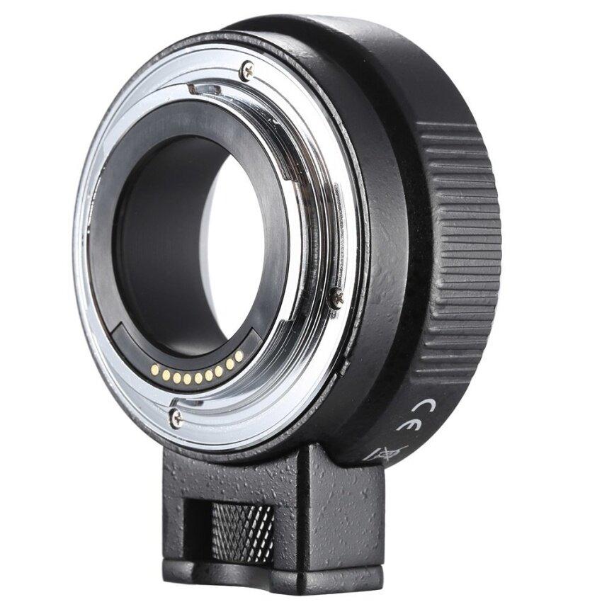 Andoer EF-EOSM Lensa Mount Penyangga Adaptor Auto-Exposure Otomatis Focusand Auto-Aperture untuk Canon EF/EF-S Lensa Seri untuk EOS M EF-M-Intl