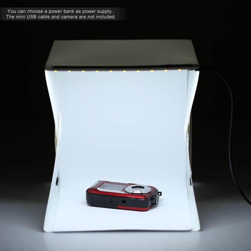 Andoer Lipat Portable Mini Kotak Lampu Fotografi Studio untuk iPhone Samsang Htc Lg Smartphone Digital atau Kamera DSLR-Intl
