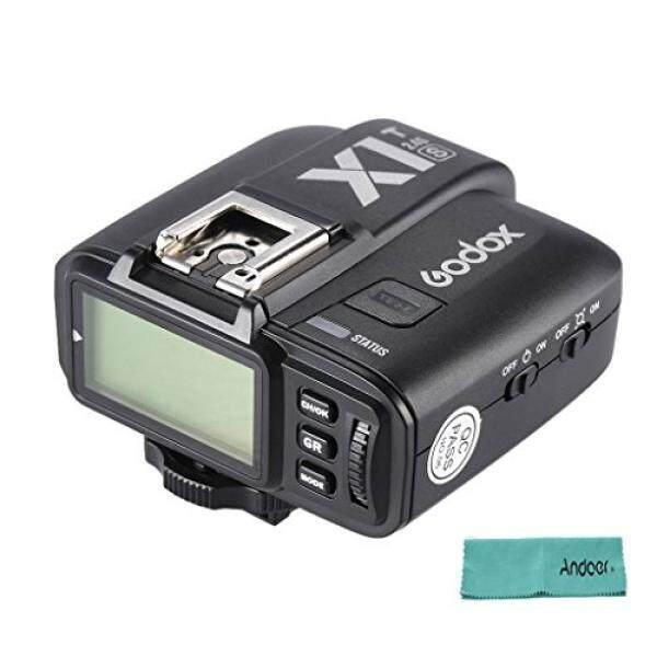 Andoer GODOX X1T-S TTL 1/8000 S HSS Fernausl? ser Transmitter Built-In GODOX 2.4G Nirkabel X-Sistem F? R Sony A77II/A7RII/A7R/A58/A99/ILCE 6000L Ildc Kamera-Intl