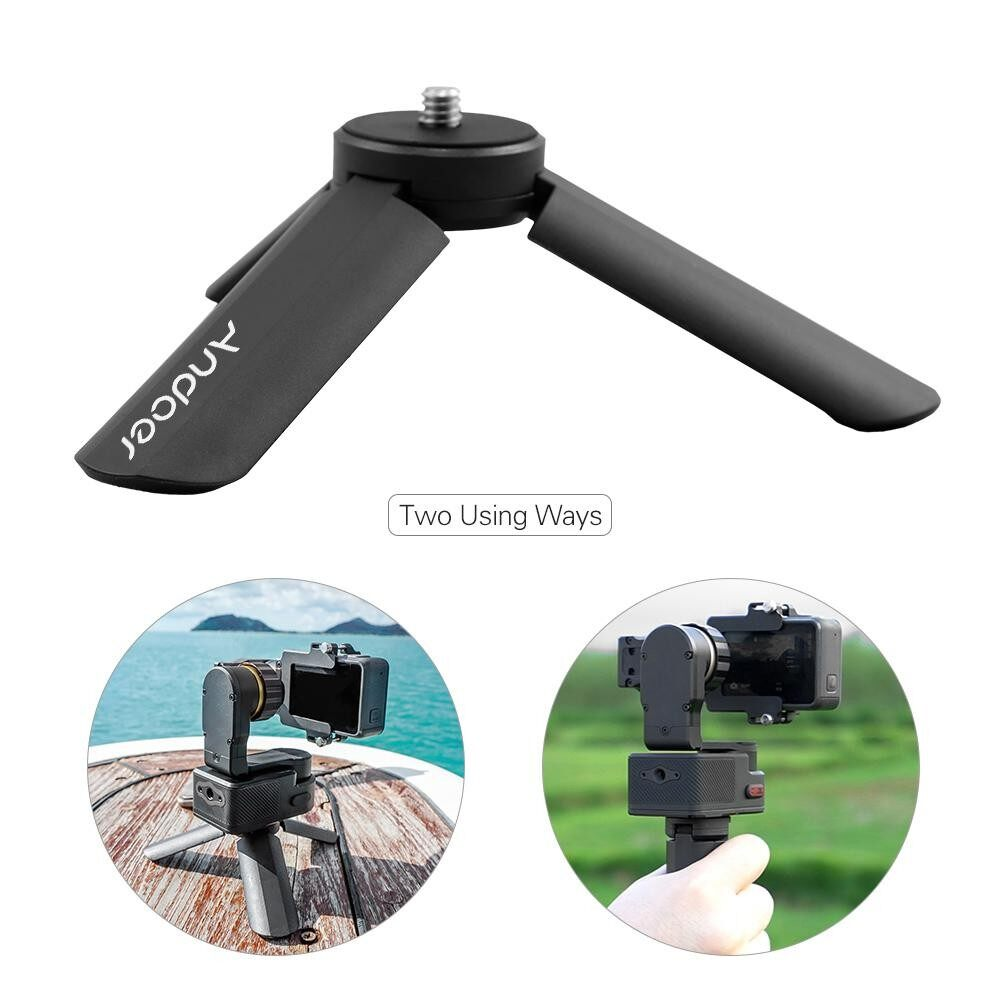 Andoer Portable Foldable Time Lapse Photography Bracket Mini Gimbal Tripod for FeiyuTech WG2 G5 SPG Series Vimble c SUMMON WG WGS G4S G4 Pro Gimbal - intl