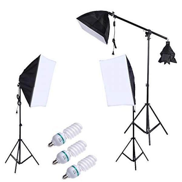 Andoer Set Kit Beleuchtung Foto Professionelle Fotografie Mit 5500 K 135 W  Daylight Studio Leuchtmittel Licht