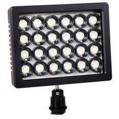 Andoer W24 24 LED Video Light 20W 2300LM Dimmable for DSLR Camera DV Camcorder