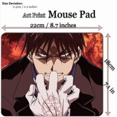 Anime Art Print Mouse Pad Mat (22*18cm) for A616 Roy Mustang - Fullmetal Alchemist Malaysia