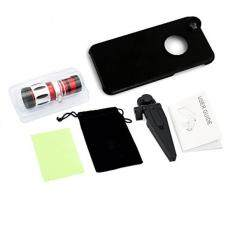 Apexel 12.5X Optical Zoom Super Degree Aluminum Telescope/ Telephoto Lens Kit with Tripod/ Back Case for iPhone 6