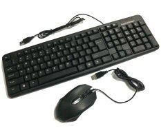 Apple Green KB-858 Waterproof Gaming USB Keyboard + Q-NEXOS USB OPTICAL MOUSE MS-Q1 Combo Set Malaysia