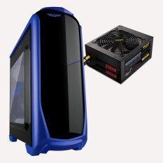 Armaggeddon T9x (Blue) bundle Voltron Gold 800 PSU Malaysia