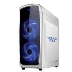 Armaggeddon Venus V3FX Full ATX Gaming Tower (without PSU)-White Malaysia