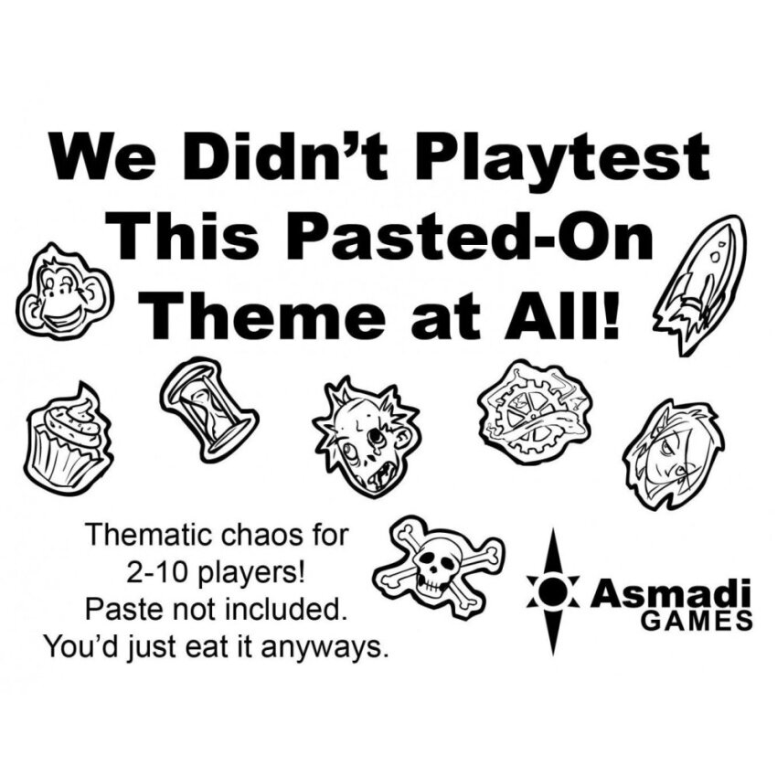 Asmadi Games We Didnt Playtest This Pasted-On Theme at All CardGame - intl