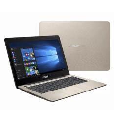 Asus A-Series A456U-RFA133T 14 FHD Laptop Gold (i5-7200, 4GB, 1TB, GT930MX 2GB, W10H) Malaysia
