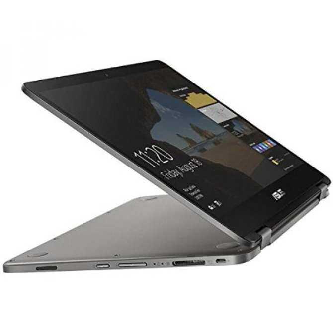 ASUS VivoBook Flip 14 Thin and Light 2-in-1 HD Touchscreen Laptop, Intel  Quad-Core Pentium N4200 Processor (2 5GHz), 4GB RAM, 64GB EMMC Storage,