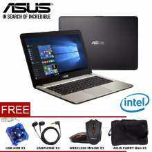 ASUS VivoBook Max X441NA Series Notebook/Laptop (INTEL®DUAL-CORE N3350/4GB/500GB/14''/DVDRW/WIN10)