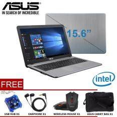 ASUS VivoBook Max X541NA-Series Notebook/Laptop (INTEL®DUAL-CORE N3350/4GB/500GB/15.6/DVDRW/WIN10) Malaysia