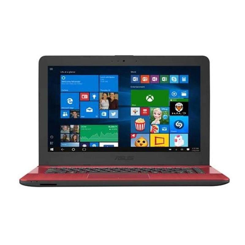 Asus VivoBook X441N-AGA278T 14 Laptop Red (N4200, 4GB, 500GB, Intel, W10) Malaysia