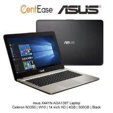 Asus X441N-AGA139T Laptop - Celeron N3350 | W10 | 14 inch HD | 4GB | 500GB | Black Malaysia