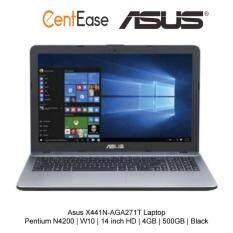 Asus X441N-AGA271T Laptop - Pentium N4200  W10  14 inch HD  4GB  500GB  Black Malaysia