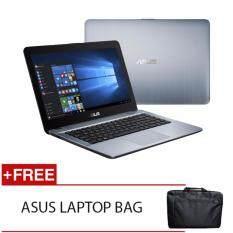 ASUS X441U-AWX096T I3-6006U 4GD3 500GB WIN10H (SILVER) FREE ASUS LAPTOP BAG Malaysia