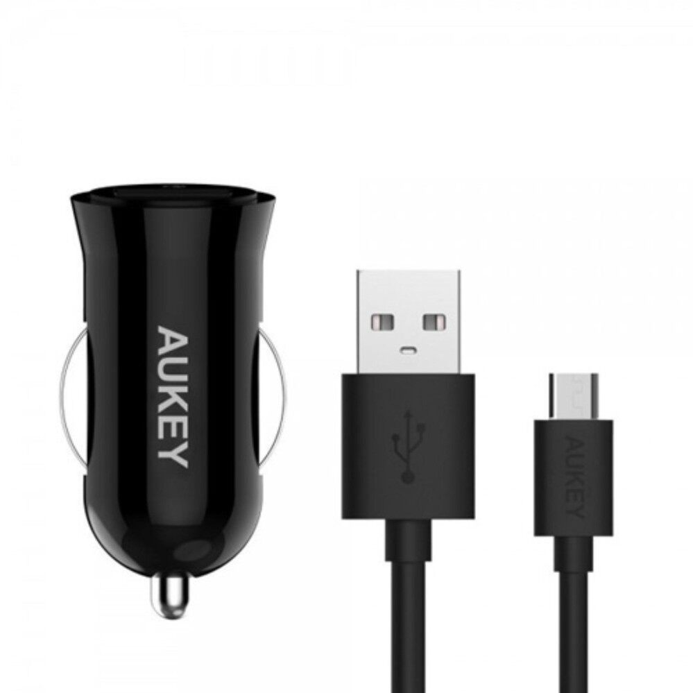 AUKEY CC-T5 QUALCOMM QC 2.0 Car Charger Car Charger Smartphone Fast Charger - intl