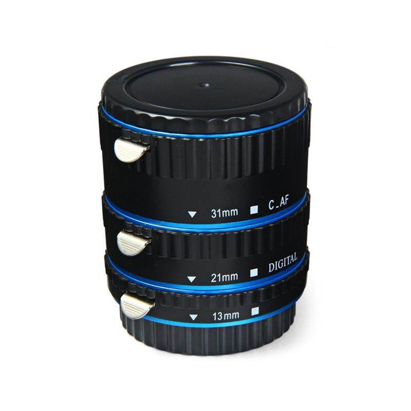 AUkEy Baru Auto Fokus AF Tabung Ekstensi Makro/Set Cincin Adaptor Lensa untuk Canon EOS Otomatis