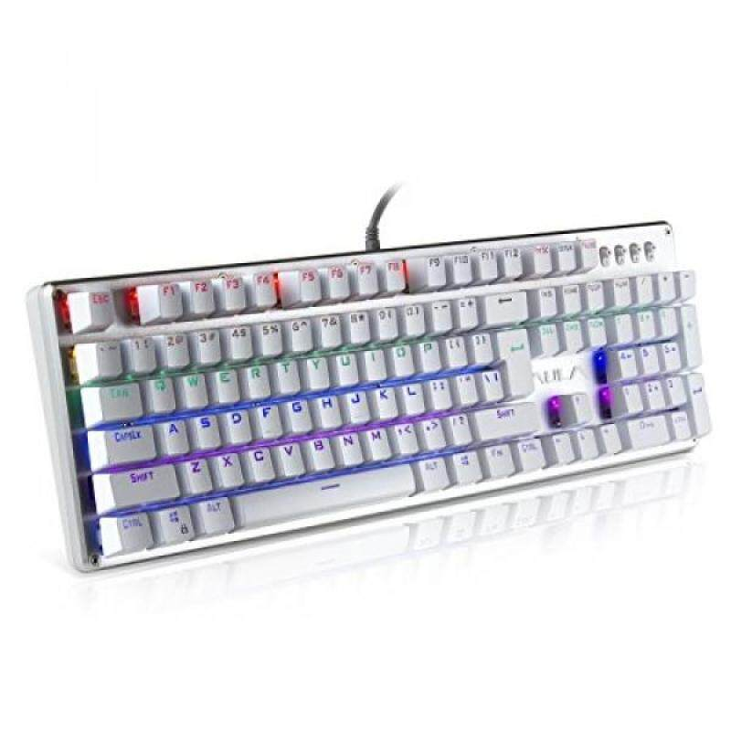 AULA AULA Unicorn Backlit Mechanical Keyboard with Multi-color LED Illuminated Gaming Computer Keyboard - intl Singapore