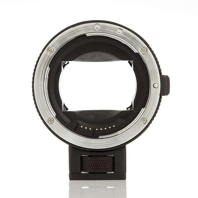 Auto Fokus Adaptor Dudukan EF-NEX Hitam untuk Canon EF/EF-S Lensa untuk Usefor Sony NEX II E Mount 3/ 3N/5N/5R/7/A7, mendukung Penuh Frame &-Intl
