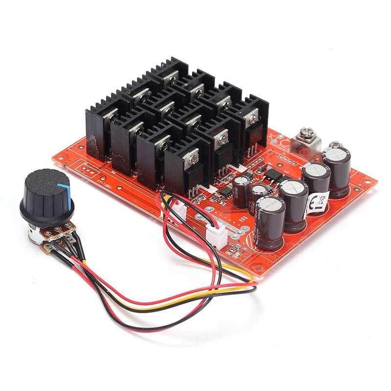 Otomotif PWM Motor DC Kontrol Kecepatan untuk Mobil/Lap Mobil/Mobil Fan/Kipas