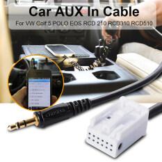 USB Connecting Cable Adapter For VW Jetta Golf MK5 MK6 Passat B6 B7 RCD510 AC512MYR26. MYR 28