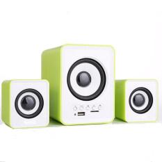 AV LAB U2 USB 2.1 Multimedia Portable Bluetooth Speaker (Green) Malaysia